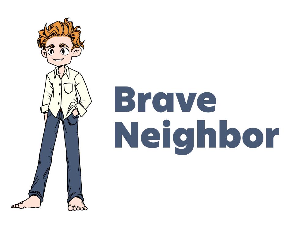 Brave Neighbor Logo