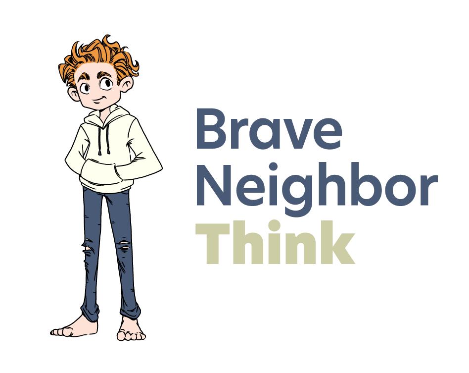 Brave Neighbor Think Logo