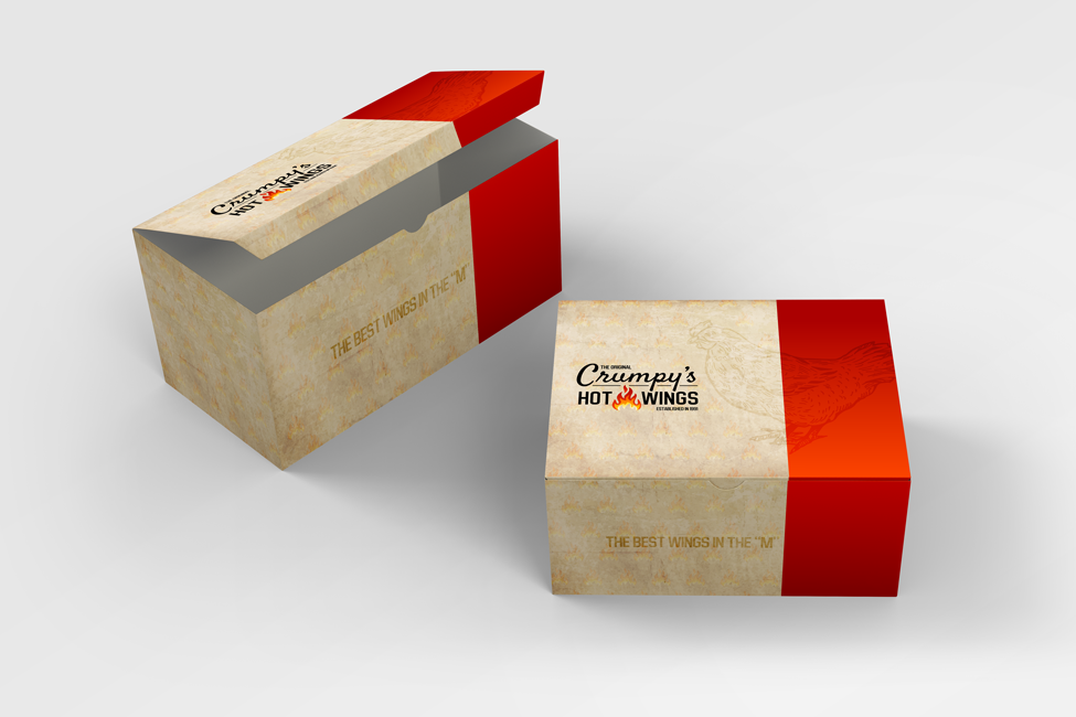 Crumpy's Hotwing Packaging